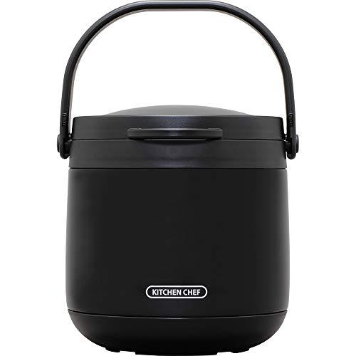 ダブル真空保温調理鍋 おまかせさん 4.5L RWP-N45 [ブラック]