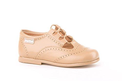 Zapatos Inglesitos para Niños Todo Piel Mod.804. Calzado Infantil Made in Spain, Garantia de Calidad.
