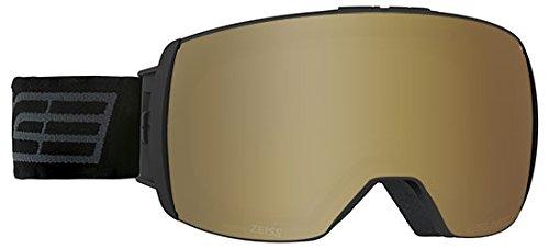 Salice 605TECH Skibrille SR + Sonar Schwarz Unisex Erwachsene Einheitsgröße