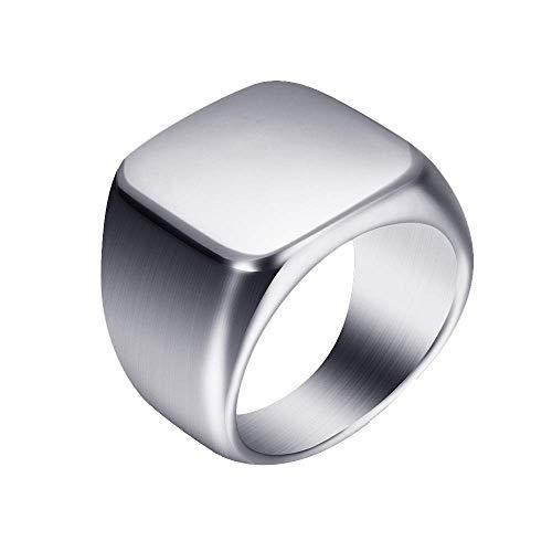 Onefeart RVS Ring voor Vrouwen Mannen Zeer Gepolijst