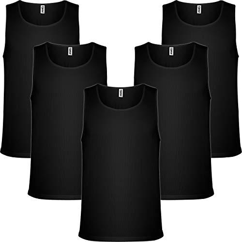Pack 5 | Camiseta Tirantes Hombre | Deporte/Gym | Sin Mangas |...