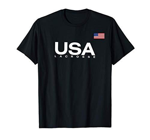 USA Lacrosse Flag T-Shirt
