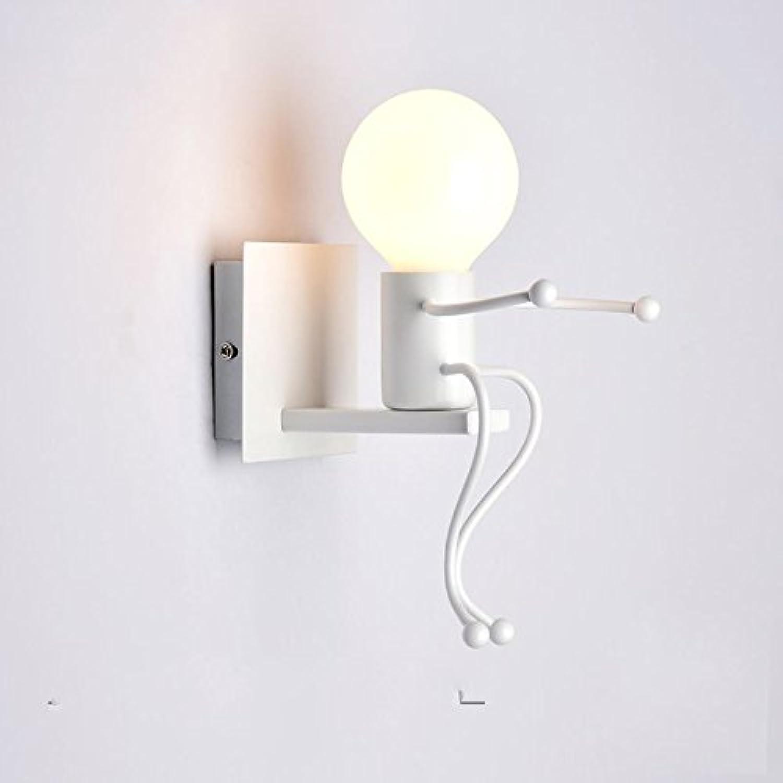 HRCxue Der Leiter des Creative Wandleuchte minimalistischen Treppen, Gngen, durch die die Strae Lampen Kinderzimmer Schlafzimmer Wohnzimmer Wand Hirschkopf Licht 18  18 cm