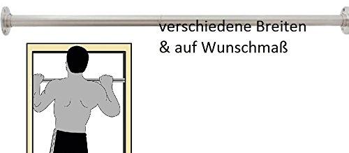 WUNSCHMASS (80-150 cm) Reckstange aus Edelstahl V2A Turnstange Einzelturnreck Turnreck Kletterstange