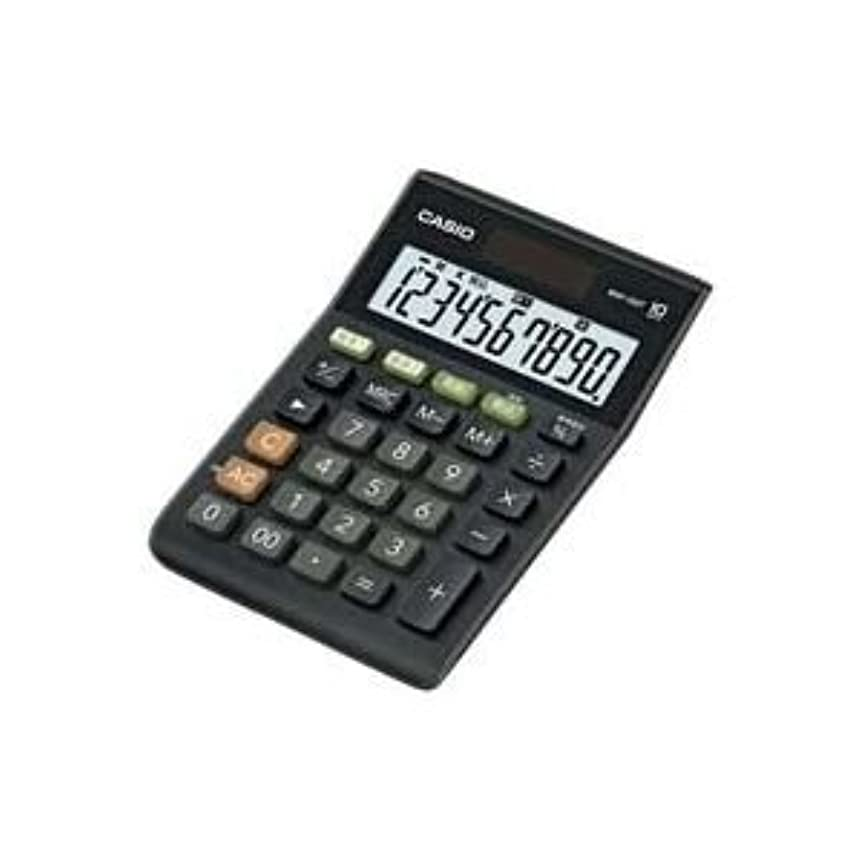 ベッドブランド名批判(業務用30セット) カシオ CASIO W税率ミニジャスト電卓 MW-100T-BK-N 生活用品 インテリア 雑貨 文具 オフィス用品 電卓 14067381 [並行輸入品]
