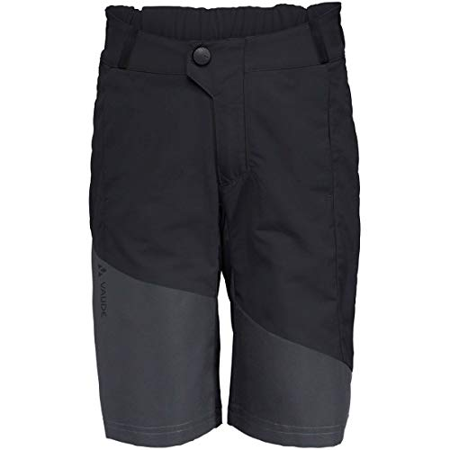 VAUDE Kinder Moab Shorts, Black, 122/128