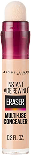 Maybelline Instant Age Rewind Eraser Dark Circles Treatment Concealer, Warm Light, 0.2 Fl Oz (1 Count), (Packaging May Vary)