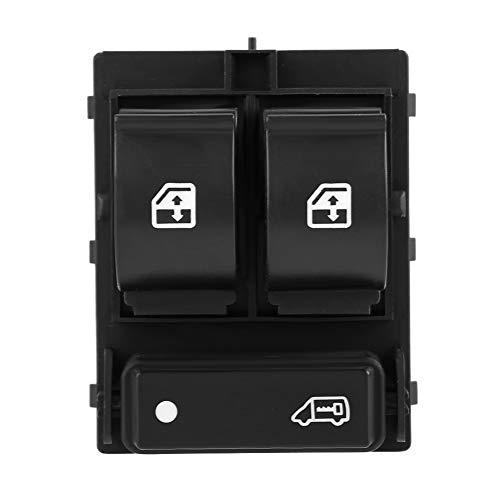 KIMISS Interruptor de ventana, eléctrico Botón de interruptor de ventana eléctrico 735421419 6490X9