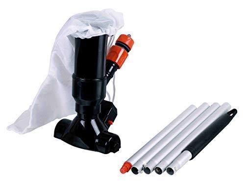 well2wellness® Poolsauger Venturisauger Black Magic inkl. Teleskopstange (022957)