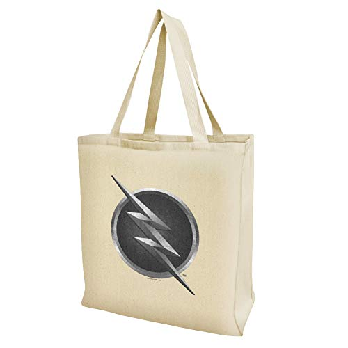 The Flash TV-Serie Einkaufstasche, wiederverwendbar, mit Zoom Logo Large multi