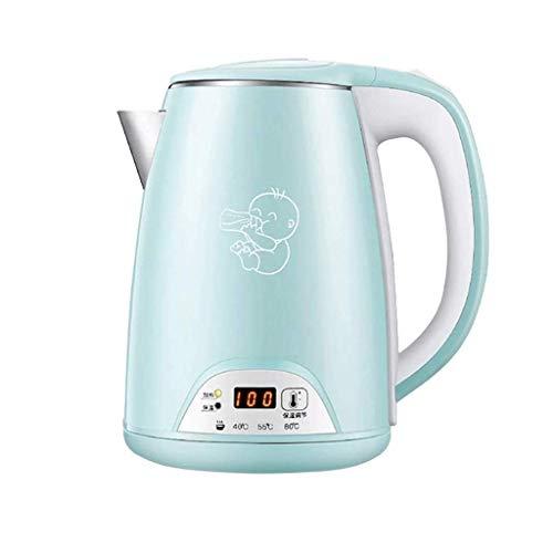 OH Wasserkocher Modernisiert, Edelstahl Cordless Tee-Kessel, Fast Boil Wasserwärmer Mit Auto Absperren Und Trockengehschutz Feiertagsgeschenk