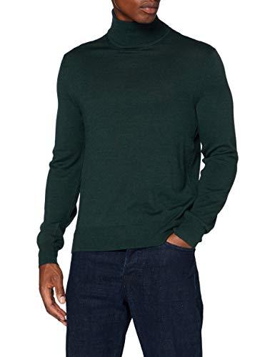 ARMANI EXCHANGE Pullover Sweater Maglione, Heather Verde, M Uomo