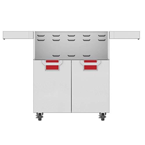 Great Deal! Hestan Aspire Double Door Tower Cart for 30-Inch Gas Grills - Matador - ECD30-RD