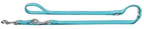 HUNTER Ecco Sport Laisse réglable pour Chien Turquoise 1,5 x 200 cm,