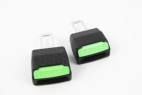 clip universal de coche color negro silencia la alarma 2 unidades Cierre de cintur/ón Capalta Blume