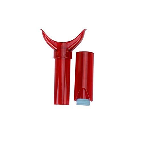 Snner Lip Plumper Pumpen für sexy Lippen Geräte Enhancer Pump ankuschelln Volluniversalgröße (Rose Red)