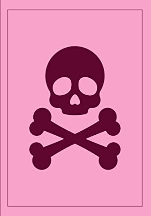 Jolly Rogers Skull and Bones Pirate Flag Notebook: A Classic 7 x 10 Inch Ruled Notebook/Journal with Lined Pages