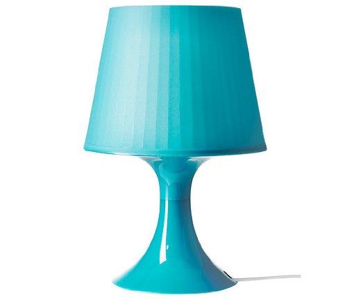 (NEW)IKEA イケア LAMPAN テーブルランプ, ターコイズ (高さ: 29 cm, ターコイズ)の写真
