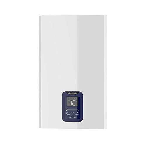 Ariston calentador a gas estanco NEXT EVO X BLU SFT 11 GAS NATURAL EU. Fabricado para ser instalado en España, blanco, 11 l - gas natural
