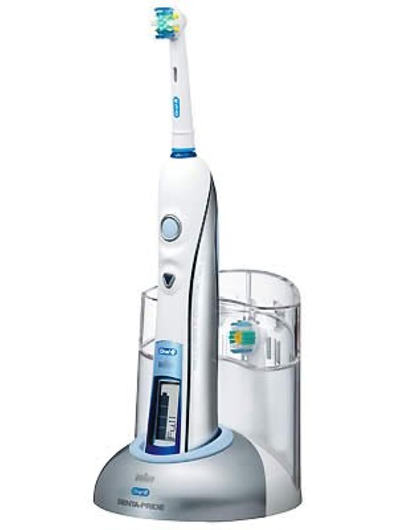 アラブ原告スペアブラウン オーラルB 電動歯ブラシ デンタプライド デラックス D255264