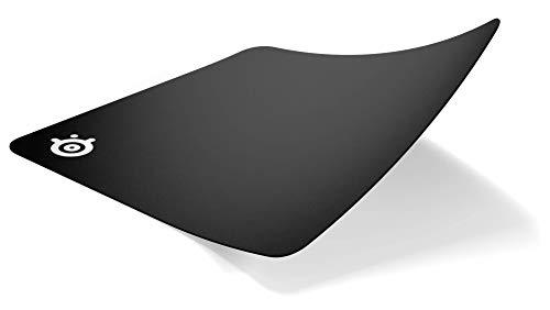 SteelSeries QcK+ - Gaming-Mauspad - 450mm x 400mm x 2mm - Stoff - Gummiunterseite - Schwarz