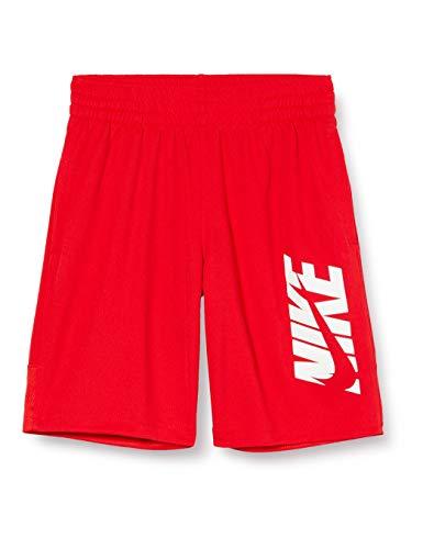Nike Jungen Sport Shorts B NK HBR Short, University red/(White), S, CJ7744