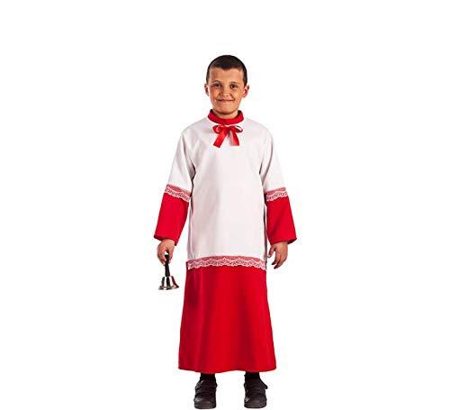 EL REY DEL CARNAVAL, SL Messdiener Raphael Kostüm für Kinder G2-(8/10 Jahre)