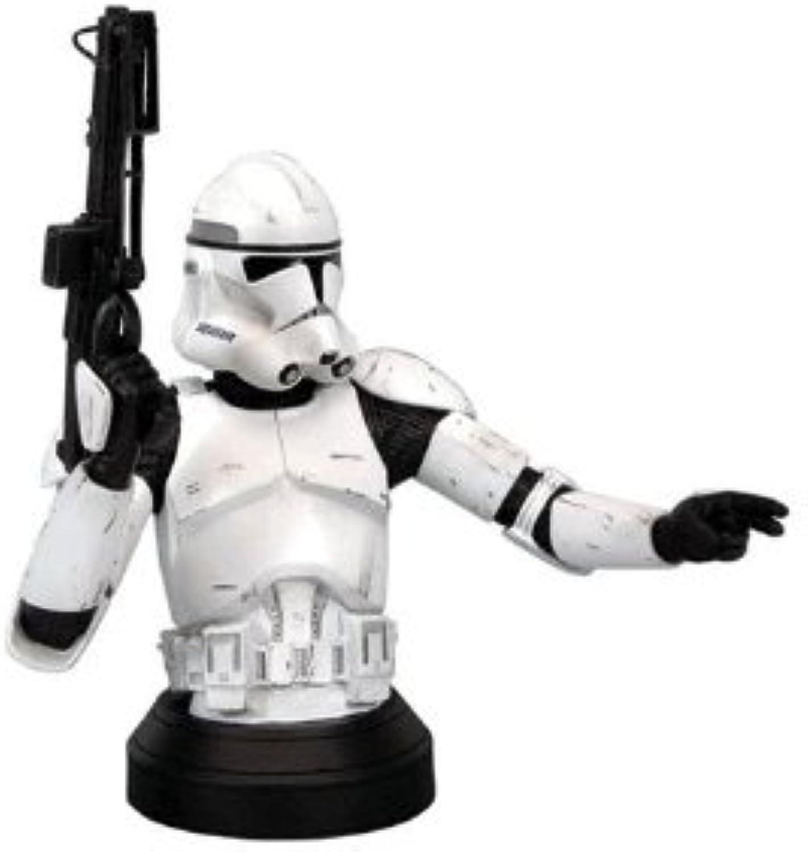 Star Wars Episode III  Revenge of the Sith Clone Trooper Weiß Variant Mini-Bust by Gentle Giant Studios
