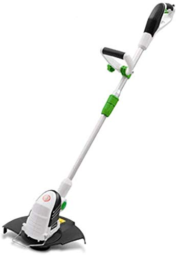 Great Deal! REWD 550W Retractable Electric Grass Trimmer,Handheld Portable Cordless Weeder Weed Tr...