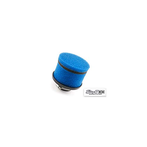 Motodak Filtre a air stage6 Competition Court Mousse Bleu (dia 35mm)