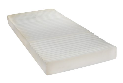 "Drive Medical Therapeutic 5 Zone Support Mattress, White, 35"" x 80"" x 5. 5"""