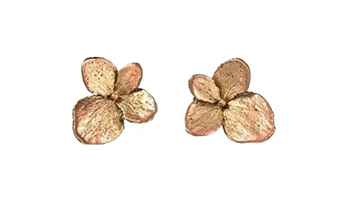 "Photo of ""Hydrangea"" Post Earrings by Michael Michaud for Silver Seasons"