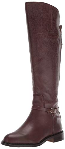 Franco Sarto Women's Haylie Knee High Boot, Brown Leather, 8 M US