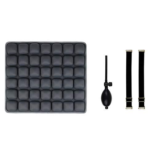 Ruilin Büro Auto Sitzkissen - Luftpolster 3D Stereo Airbag Atmungsaktives Kissen Schöne Hip Anti-Dekubitus Ice Pad Plus Wasserkissen