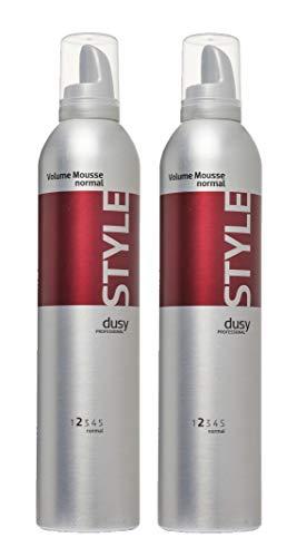 Dusy Professional Volume Mousse Normal 400ml Schaumfestiger 2 Stück