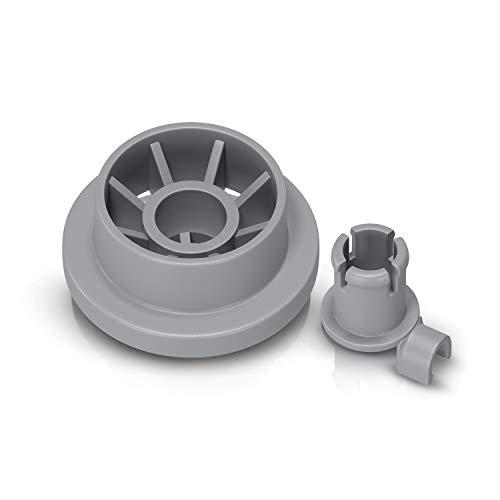 Korbrolle Rolle Laufrolle Ersatz für Bosch Siemens Constructa Neff 00165314 165314 Ersatzteile für Geschirrkorb Unterkorb Spülmaschine Geschirrspülmaschine Geschirrspüler