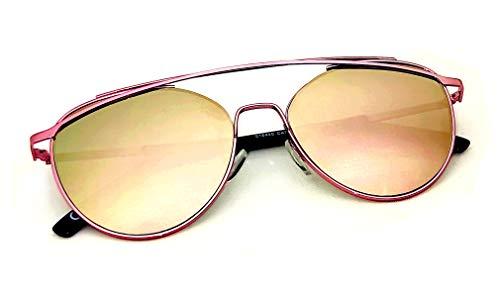 Gafas de sol aviador Top Gun Metal Aviador Piloto Amarillo Verde Rosa Oro