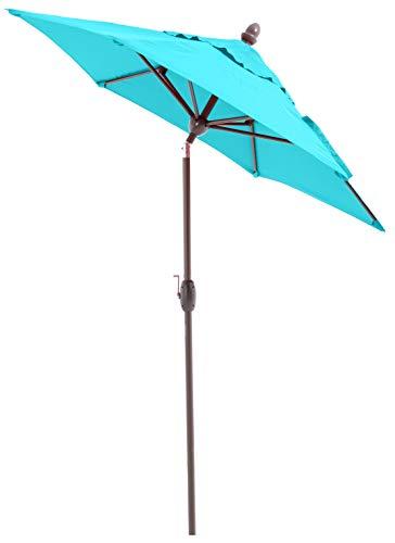 SORARA Lima Parasol - Turquoise - Ø230cm - Incl. Beschermhoes