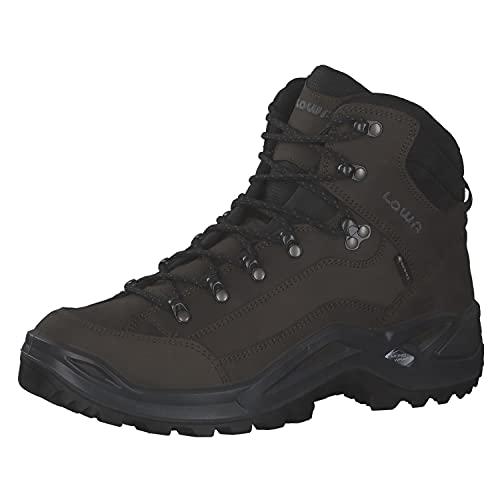 Lowa Renegade GTX MID Unisex Wanderstiefel Outdoor Goretex braun, Schuhgröße:46.5 EU