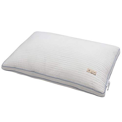 Rekaf Suave, amigable con la Piel, cómoda, Almohada de sueño Individual, Almohada del Hotel, no deformable, cómodo, Transpirable, Suave, elástico, no Lavable (48 * 74cm)