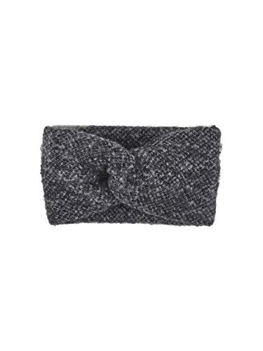 PIECES Pcpyron Headband Noos Bandeau, Noir (Black Black), Taille unique Femme
