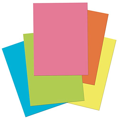 "Tru-Ray Heavyweight Construction Paper, Hot Assorted Colors, 9"" x 12"", 50 Sheets Photo #3"