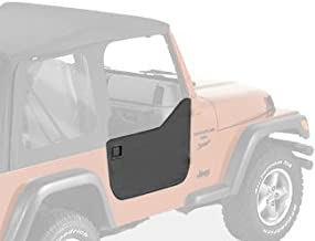 Bestop 53039-35 Black Diamond Fabric Lower Half Door Set for 1997-2006 Wrangler Including Unlimited