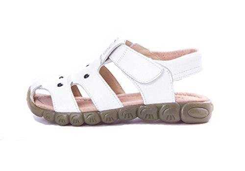 Eagsouni Unisex Kinder Sandalen aus weichem Leder - 2