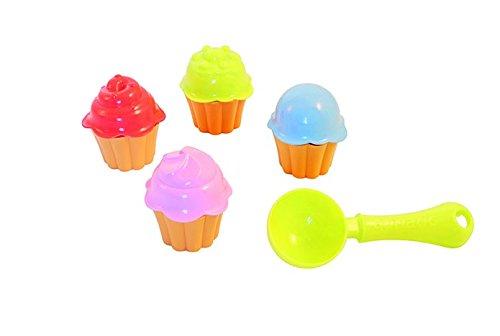 Adriatic A725 Beach Toys Cupcakes Cups in nylon tas met Header