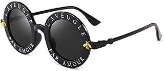 TYJYY Sunglasses Date Retro Lunettes De Soleil Rondes Femmes Marque Designer Vintage Gradient Shades Lunettes De Soleil Uv400