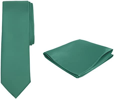 Jacob Alexander Solid Color Boy s Regular Tie and Hanky Set Kelly Green product image