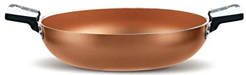 Pensofal,Cuprum Tegame 24cm due maniglie in acciaio inox