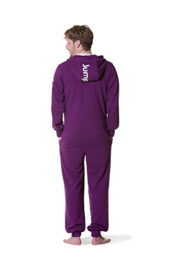 Jumpster Damen und Herren Jumpsuit Langer Overall Second G. Regular Fit Deepest Purple Violett L - 5
