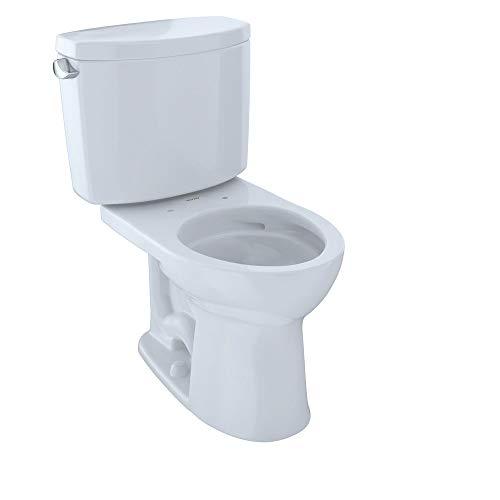 TOTO CST453CEFG#01 bathroom-hardware, 1.28Gpf/4.8Lpf, Cotton